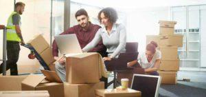 Size matters: which office is easier to be moved?